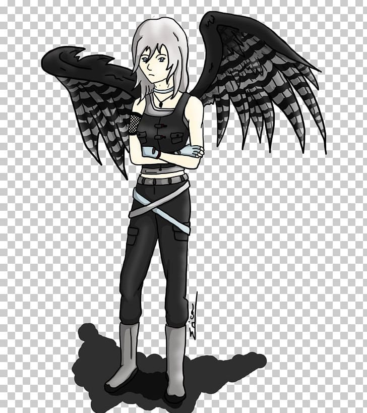 Figurine White Legendary Creature Angel M Animated Cartoon PNG, Clipart, Angel, Angel M, Animated Cartoon, Anime, Black And White Free PNG Download