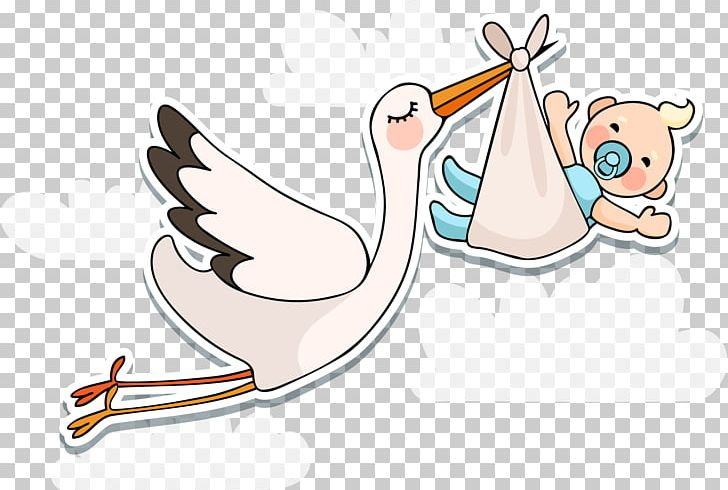 White Stork Infant Baby Shower PNG, Clipart, Arm, Babies, Baby, Baby Animals, Baby Announcement Free PNG Download
