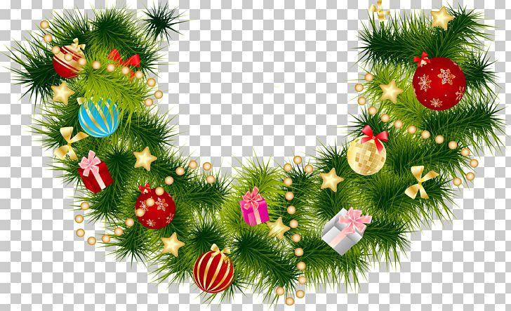 Christmas Garland Wreath Png Clipart Christmas Christmas