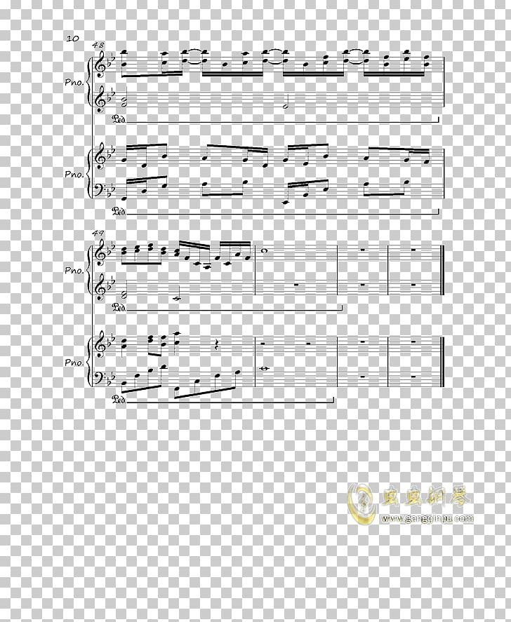 River Flows In You Piano Sheet Music Paper PNG, Clipart