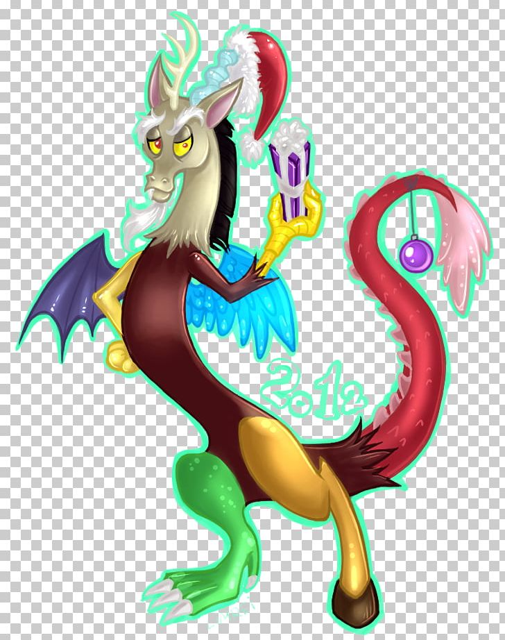 Christmas Discord.Illustration Equestria Daily Discord Png Clipart Animal