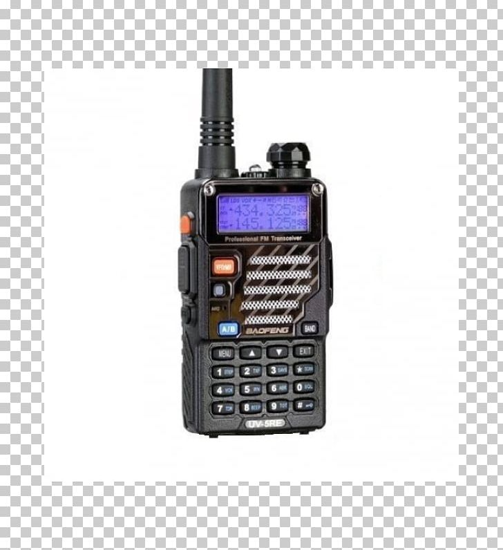 Baofeng UV-5RE Walkie-talkie Two-way Radio FM Broadcasting PNG, Clipart, Aerials, Band, Baofeng, Baofeng Uv5r, Baofeng Uv5re Free PNG Download