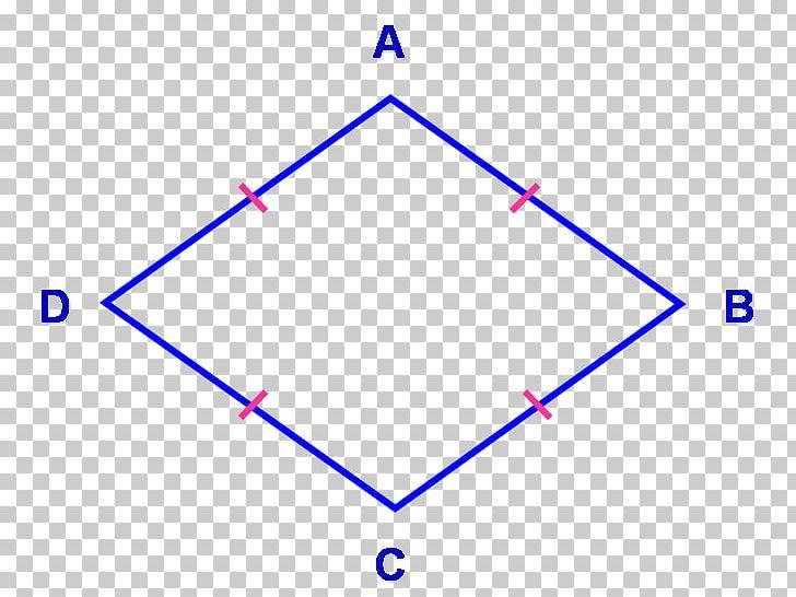 Rhombus Quadrilateral Parallelogram Geometry Shape PNG
