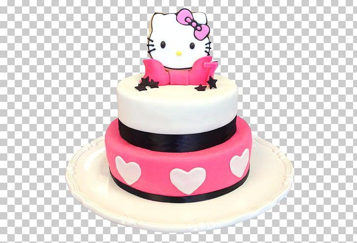 Hello kitty cake. Birthday cupcake bakery torte