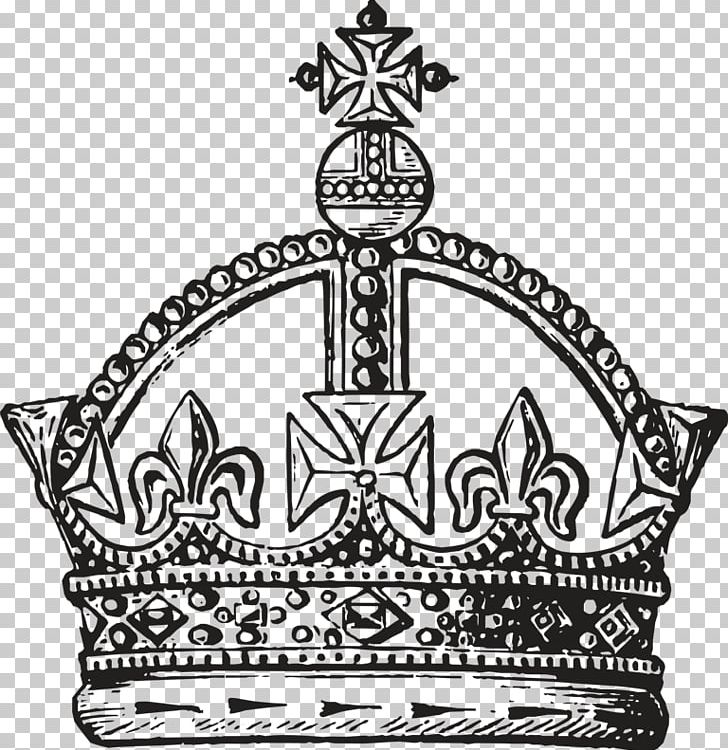 Crown Queen Regnant King Drawing Royal Family PNG, Clipart, Black And White, Bohemian Rhapsody, Coronation Of The British Monarch, Crown, Dra Free PNG Download