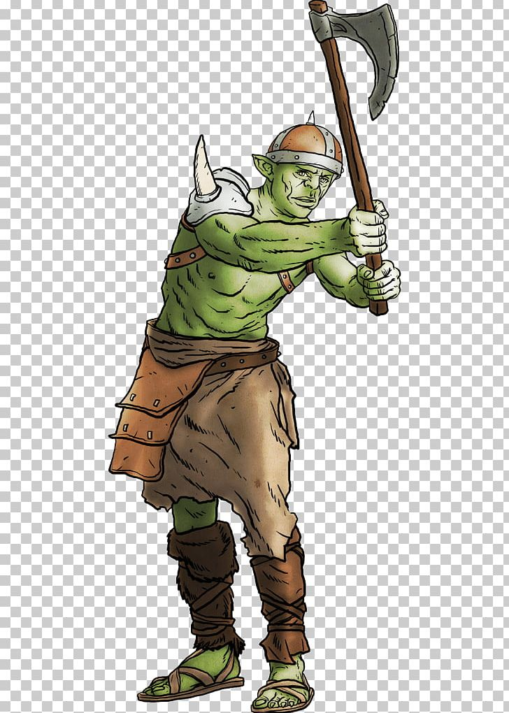 Dungeons & Dragons Pathfinder Roleplaying Game Half-orc
