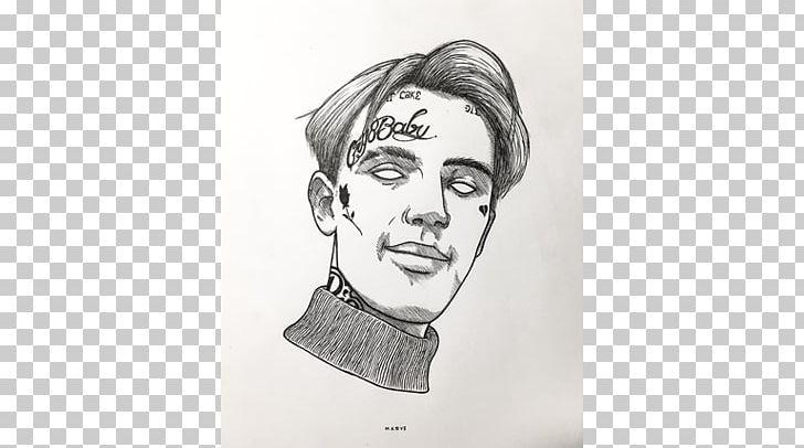 Lil peep drawing
