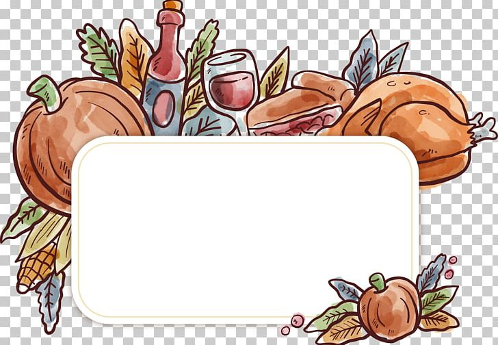 Thanksgiving Turkey Poster PNG, Clipart, Autumn, Cartoon, Euclidean Vector, Food, Invertebrate Free PNG Download