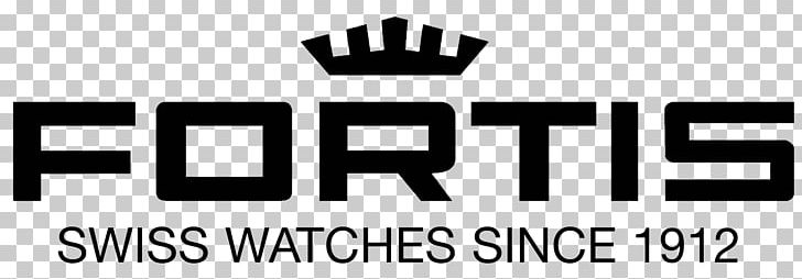 Fortis-Uhren AG Watch Logo Brand PNG, Clipart, Accessories, Area, Black, Black And White, Brand Free PNG Download