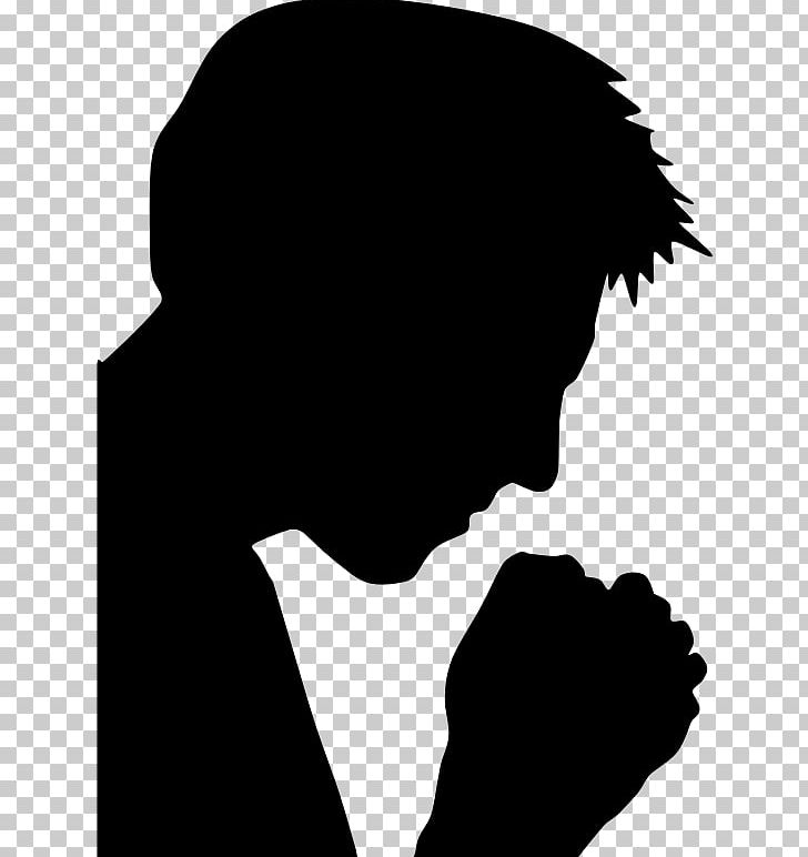 Praying Hands Prayer Silhouette God PNG, Clipart, Animals, Black, Black And White, Christian Prayer, Computer Wallpaper Free PNG Download