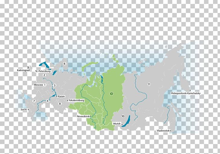Lake Baikal Map Ural Federal District Ural Mountains RosCase ...