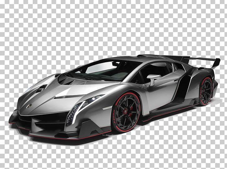 2017 Lamborghini Aventador Sports Car Lamborghini Veneno PNG