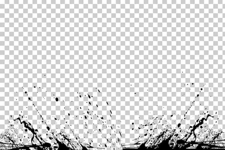 Ink Splash Watercolor Painting Computer File PNG, Clipart, Angle, Black, Black And White, Color, Color Splash Free PNG Download