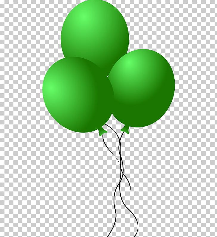 Balloon green. Png clipart light blue