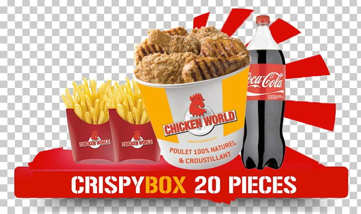 Fast Food ChickenWorld Cannes Junk Food French Fries Hamburger PNG, Clipart, Brand, Cannes, Carbonated Soft Drinks, Chicken As Food, Cordon Bleu Free PNG Download