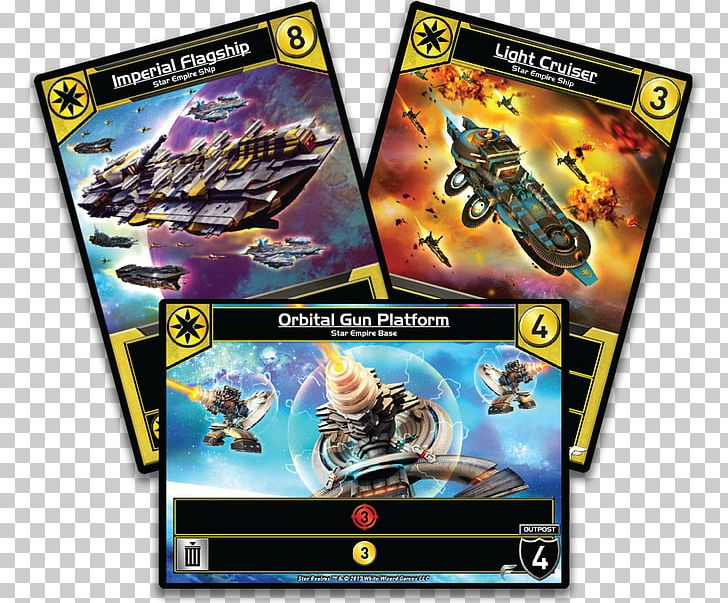 Star Realms Deck-building Game Board Game White Wizard Games PNG