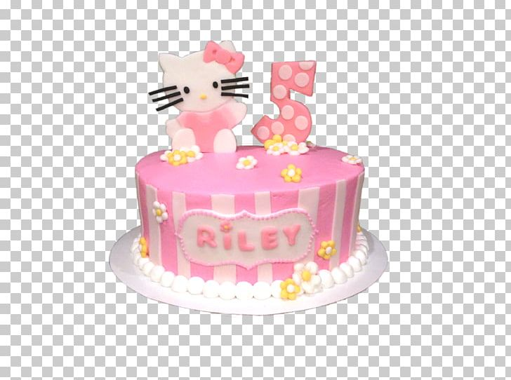 Birthday Cake Frosting & Icing Sugar Cake Torte Hello Kitty PNG, Clipart, Amp, Baby, Baked Goods, Birthday, Birthday Cake Free PNG Download