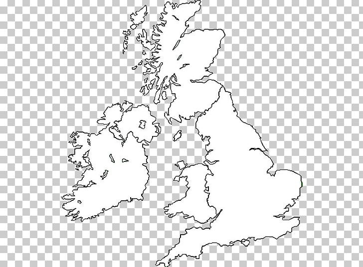 Great Britain British Isles Blank Map World Map PNG, Clipart ...