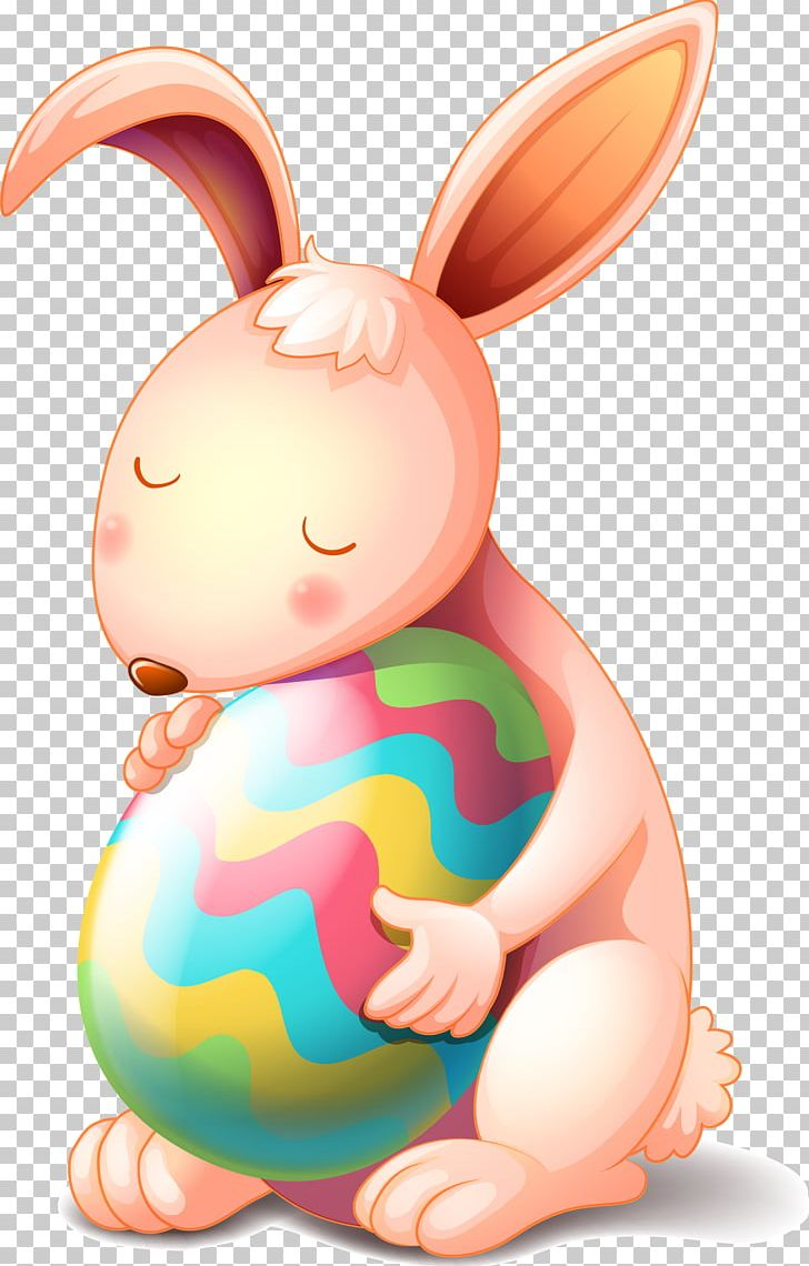 Easter Bunny Easter Egg Rabbit Png Clipart Abstract Abstract
