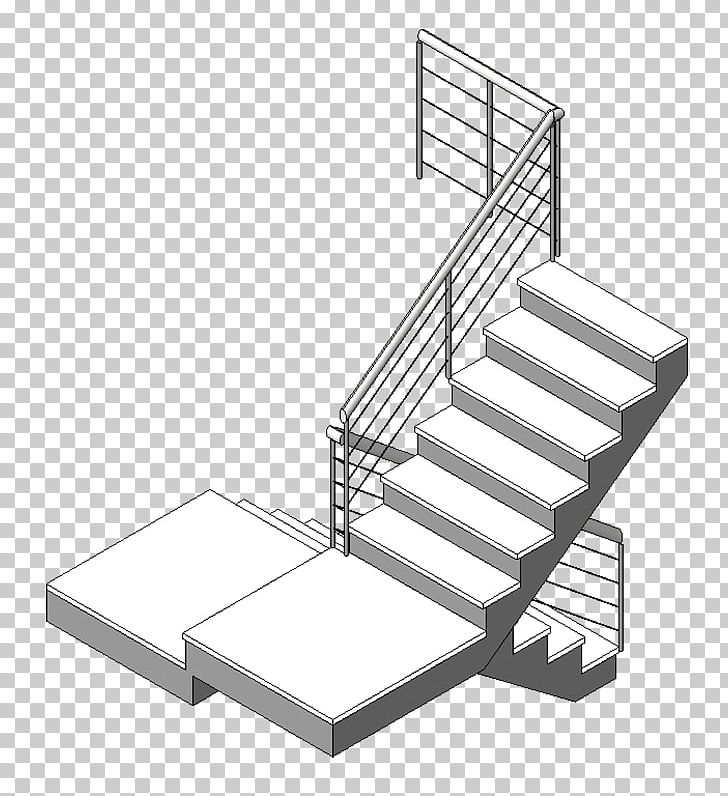 Handrail Stairs Autodesk Revit Bed Frame PNG, Clipart, Angle