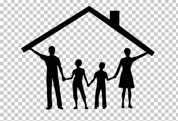 House With Family Clipart Black And White Chestfamily