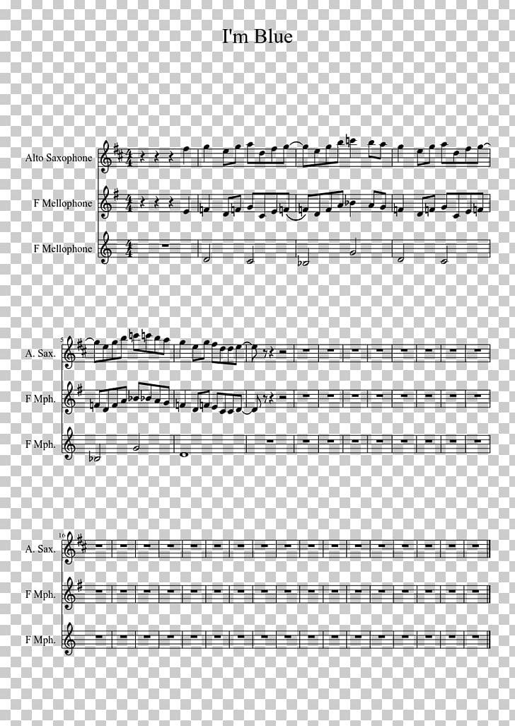 Sheet Music Alto Saxophone Piano Png Clipart Alto