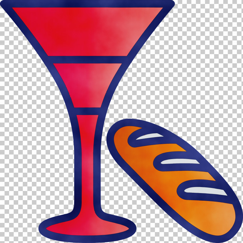 Martini Glass Drinkware Electric Blue Stemware PNG, Clipart, Drinkware, Electric Blue, Martini Glass, Paint, Passover Free PNG Download