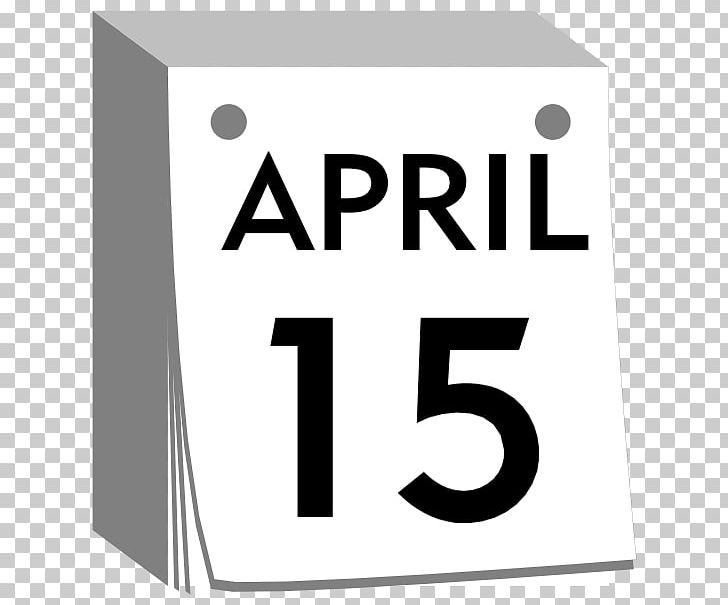 April calendar. Fools day png clipart