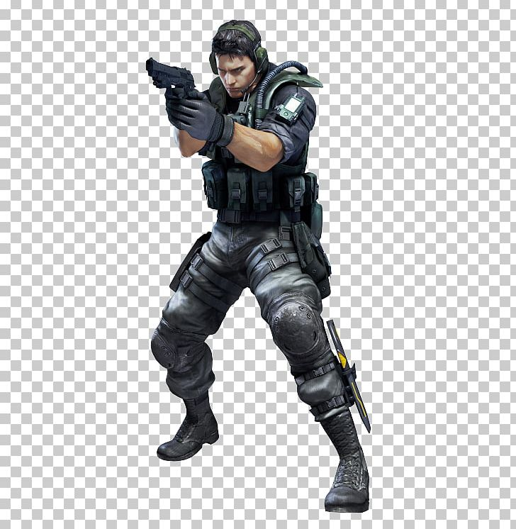Resident Evil: Revelations Resident Evil 5 Resident Evil: The Mercenaries 3D Resident Evil 4 Chris Redfield PNG, Clipart, Action Figure, Capcom, Claire Redfield, Infantry, Jill Valentine Free PNG Download
