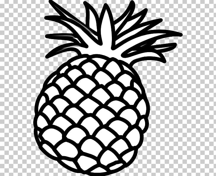 Pineapple white. Black and luau png