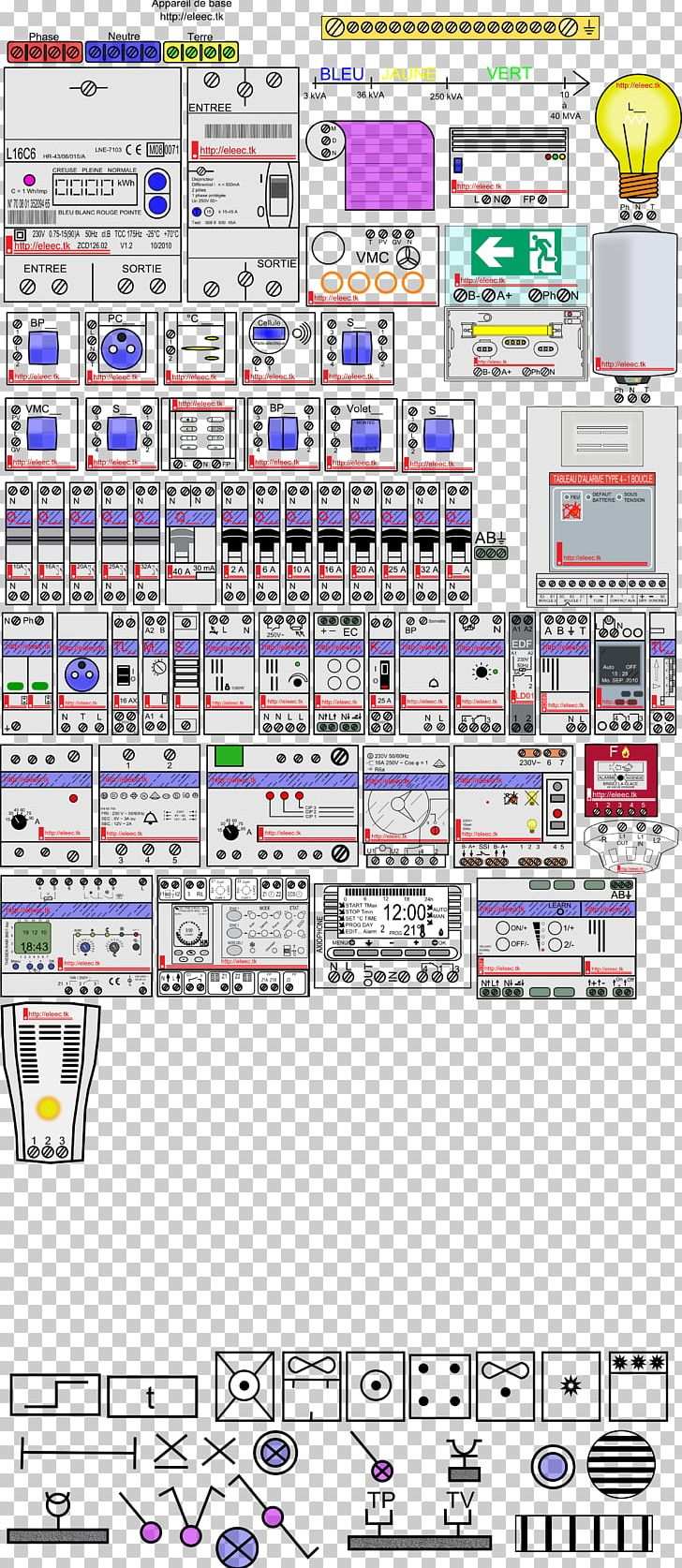 Wiring Diagram Electric Meter