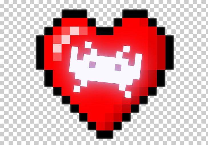 Blood splatter 8 bit. Color heart pixel