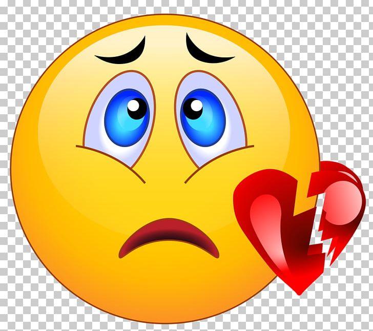 Sad emoji heartbroken. Broken heart smiley emoticon