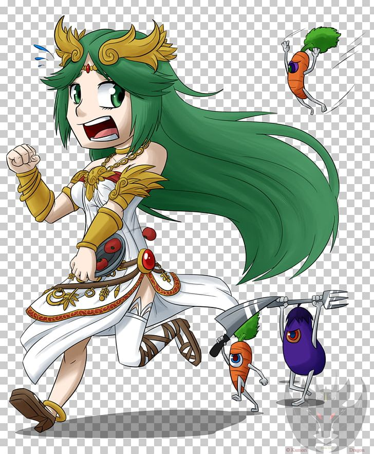 Kid Icarus Uprising Palutena Pit Dinner Png Clipart Art