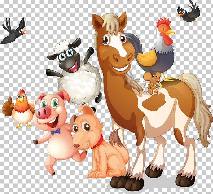 Farm Livestock Illustration PNG, Clipart, Agriculture, Animals, Carnivoran, Cartoon, Cartoon Character Free PNG Download