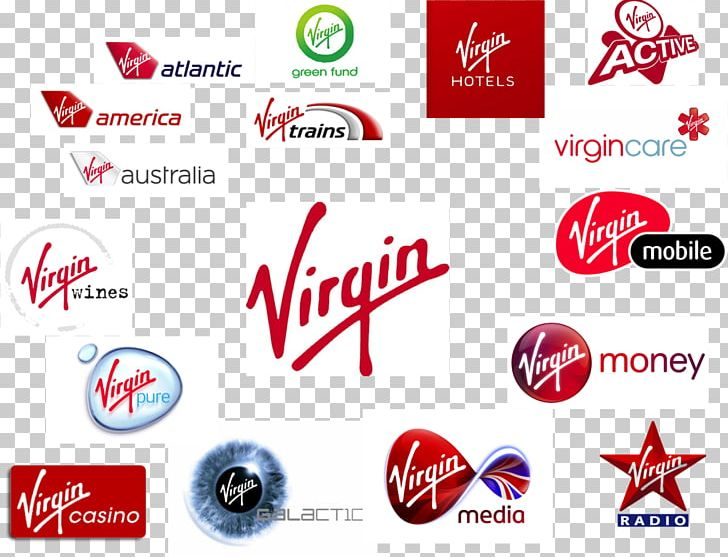 Virgin Group Company Brand Diversification PNG, Clipart