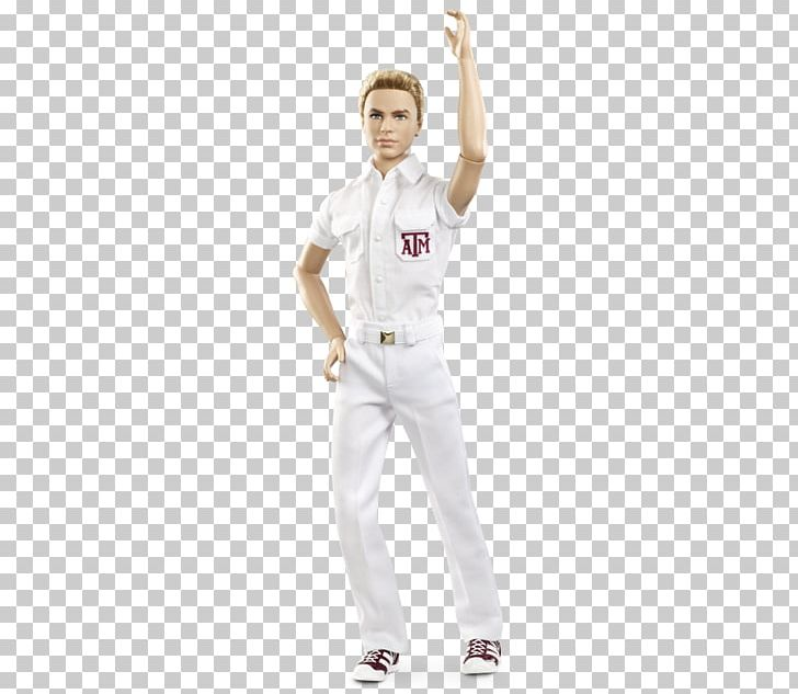 Texas A&M University Ken Aggie Yell Leaders Barbie Doll PNG, Clipart, Aggie, Arm, Art, Barbie, Cheerleader Free PNG Download