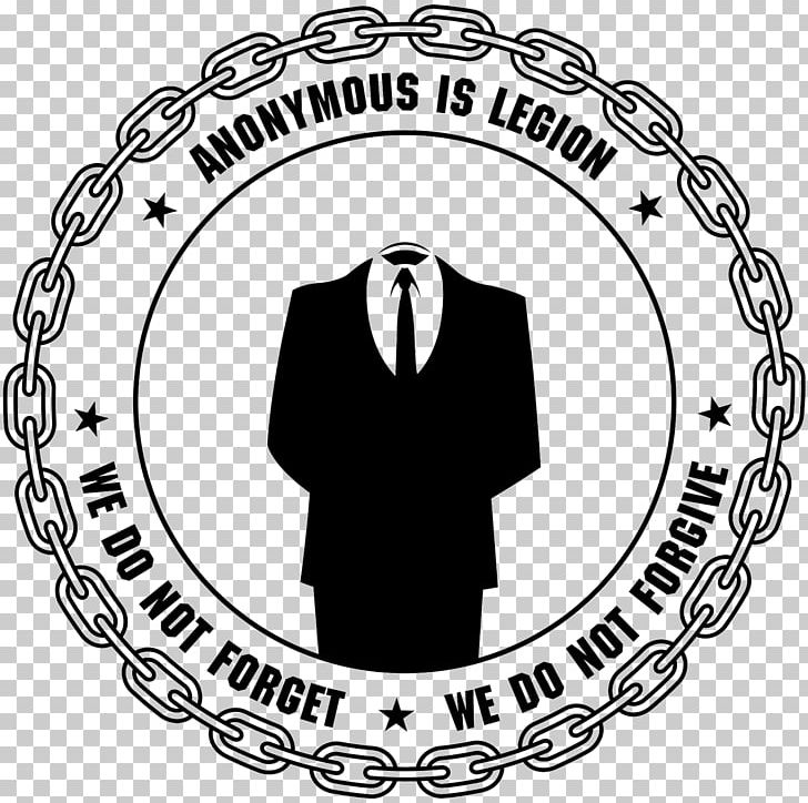 Anonymous Logo PNG, Clipart, Anonymous, Area, Art, Black, Black And White Free PNG Download