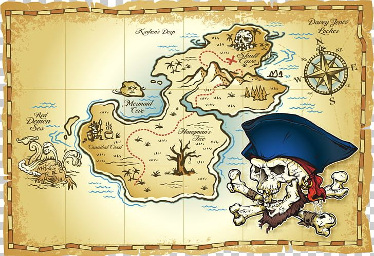 Treasure Map Buried Treasure Piracy PNG, Clipart, Africa Map, Asia Map, Australia Map, Blank Map, Buried Treasure Free PNG Download