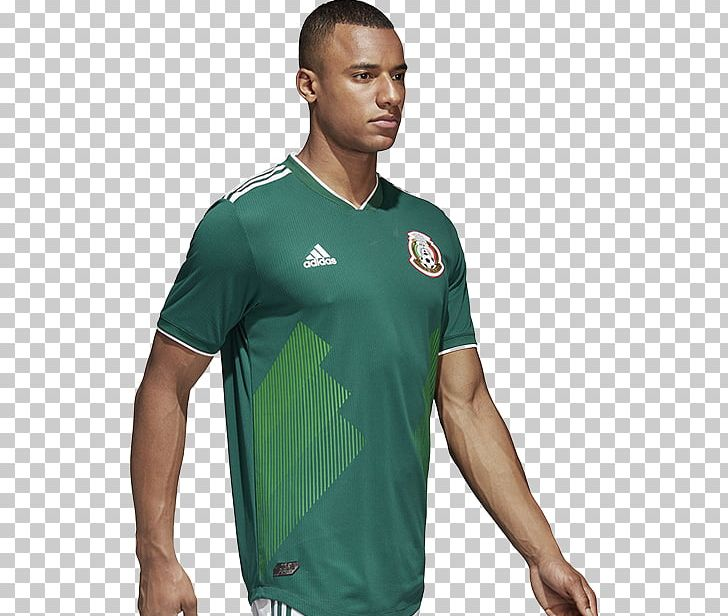 pretty nice 10292 245d5 2018 World Cup Mexico National Football Team T-shirt Adidas ...
