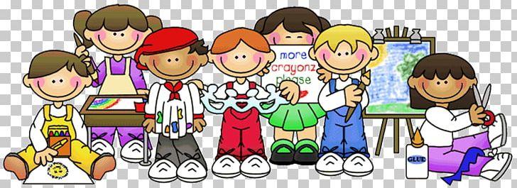 School classroom. Child png clipart art