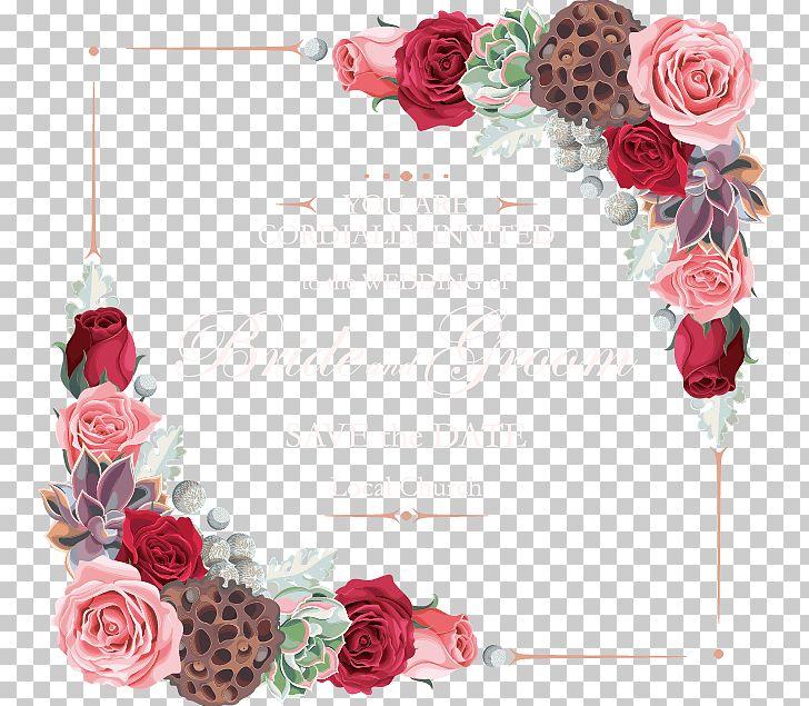 Flower Garden Roses Euclidean PNG, Clipart, Artificial Flower, Border, Border Flowers, Border Texture, Desktop Wallpaper Free PNG Download