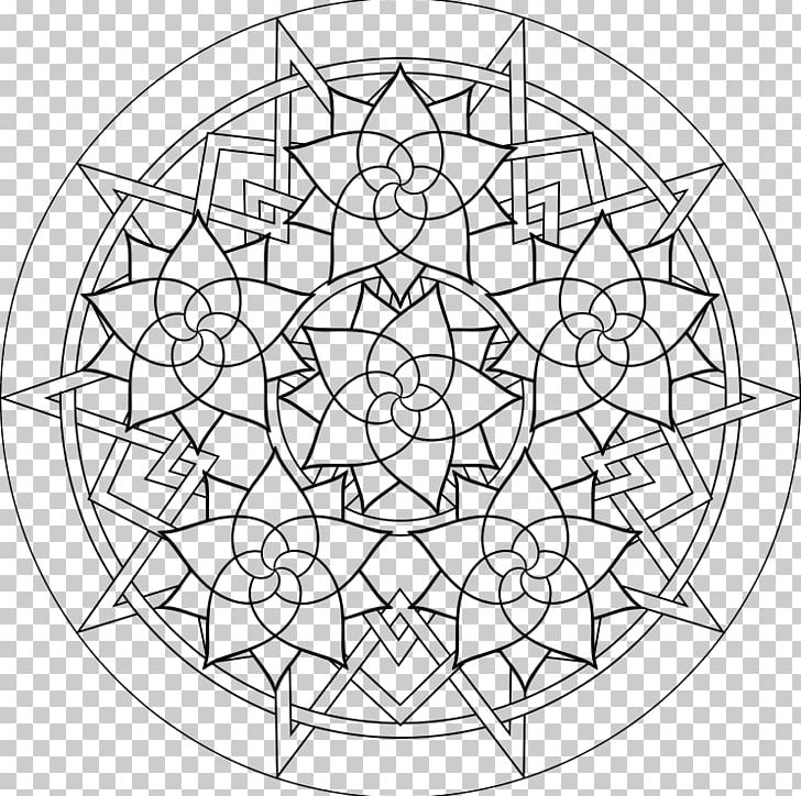 Grown Up Coloring Pages Coloring Book Mandala Adult Meditation Png Clipart Adult Area Black And White