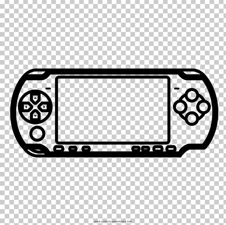 Video Game Console Accessories Drawing PlayStation Portable Coloring ...