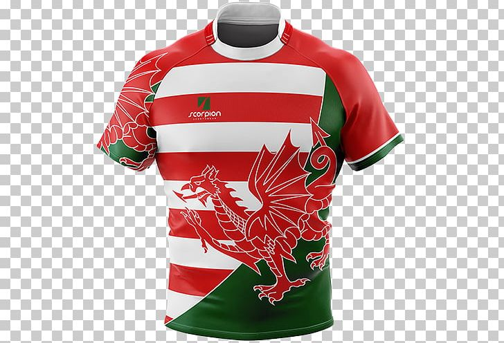purchase cheap 66264 1ae4f Wales National Rugby Union Team T-shirt Rugby Shirt PNG ...