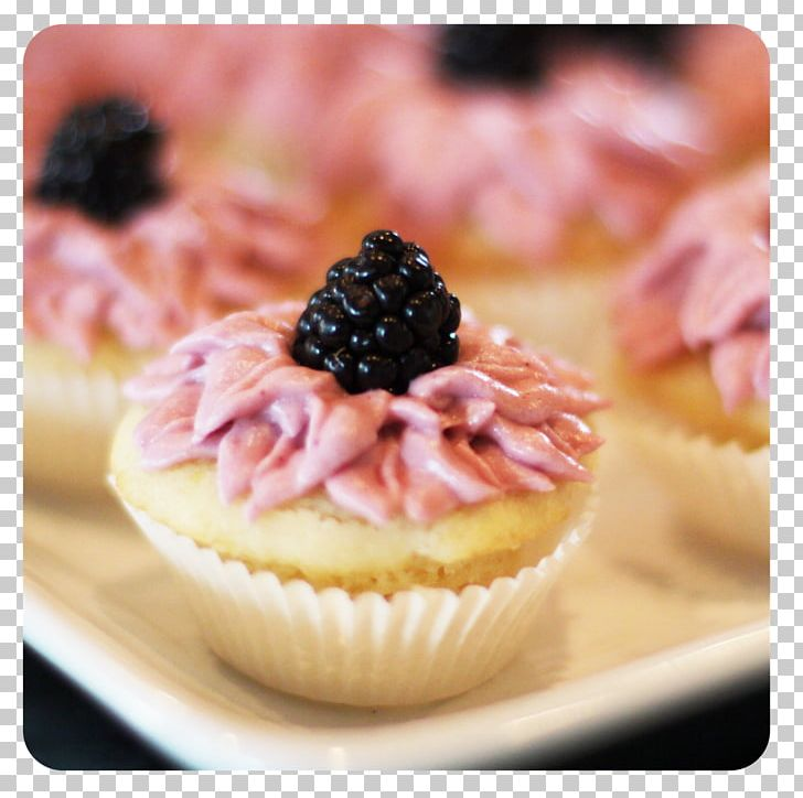 Cupcake Petit Four Buttercream Muffin PNG, Clipart, Baking, Berry, Blackberry, Buttercream, Cake Free PNG Download
