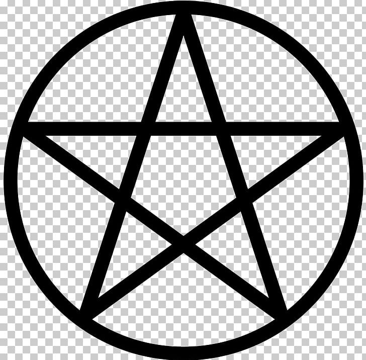 Pentagram Pentacle Wicca Paganism Symbol PNG, Clipart, Angle, Area, Black And White, Blessed Be, Circle Free PNG Download