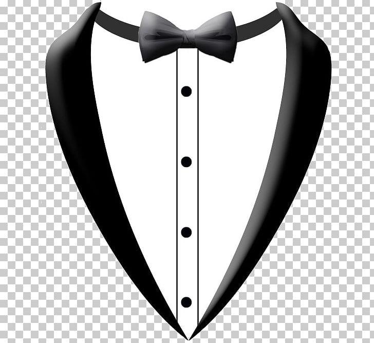Bow tie silhouette. Prom tuxedo bride png