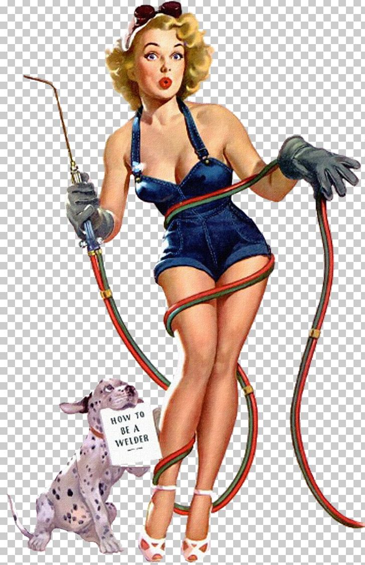 Pin-up Girl Welding Welder Decal Woman PNG, Clipart, Costume, Decal, Female, Fictional Character, Girl Free PNG Download