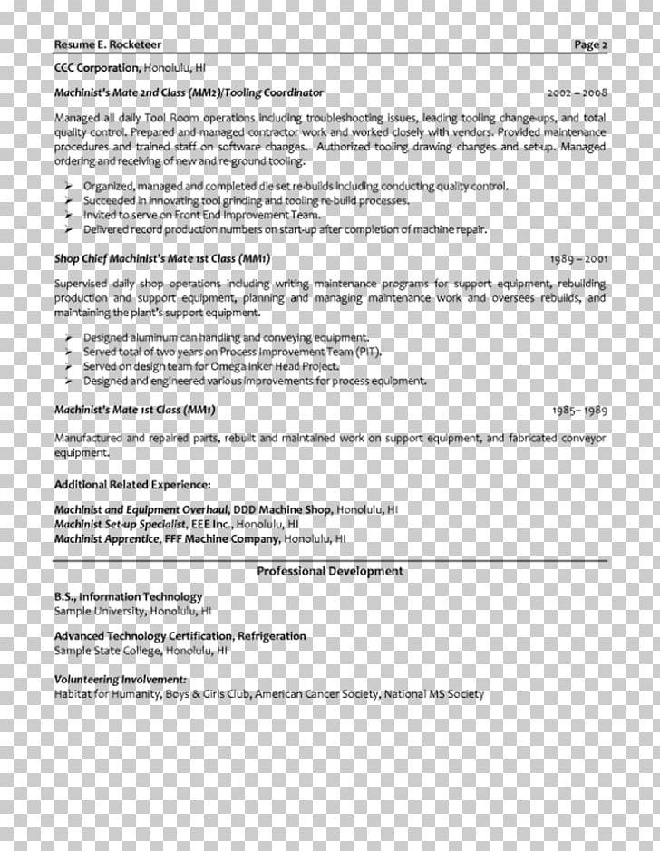 Résumé Template Cover Letter Engineering Job Description PNG ...